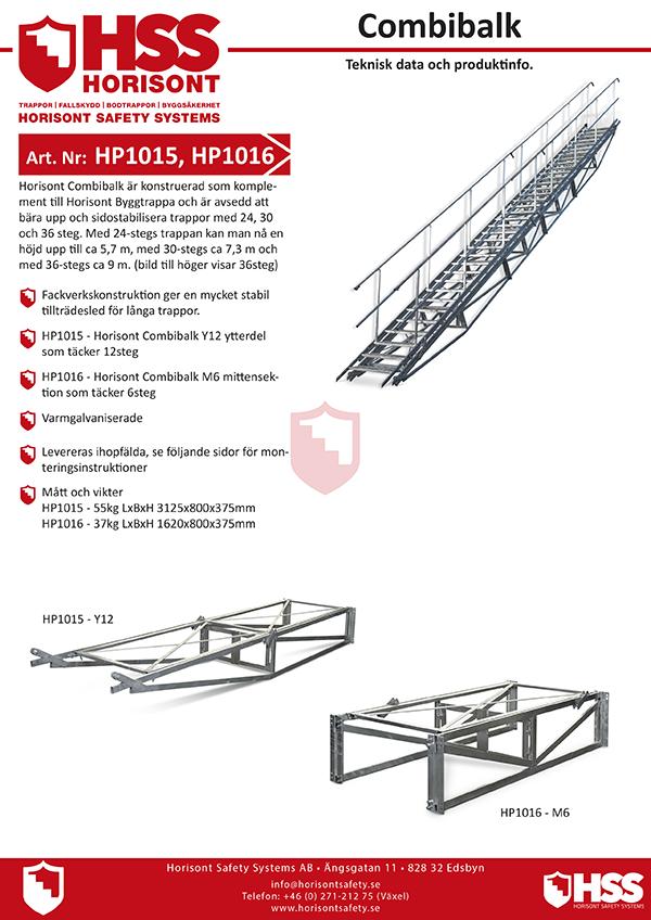HP1015 HP1016 - Svenska