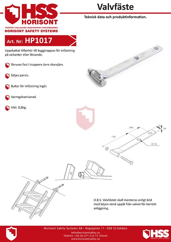 HP1017 - Svenska