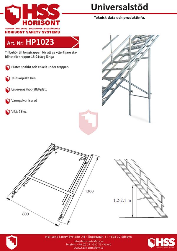 HP1023 - Svenska