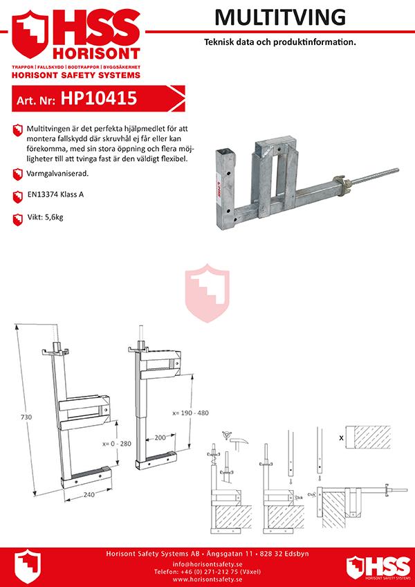 HP10415 - Svenska