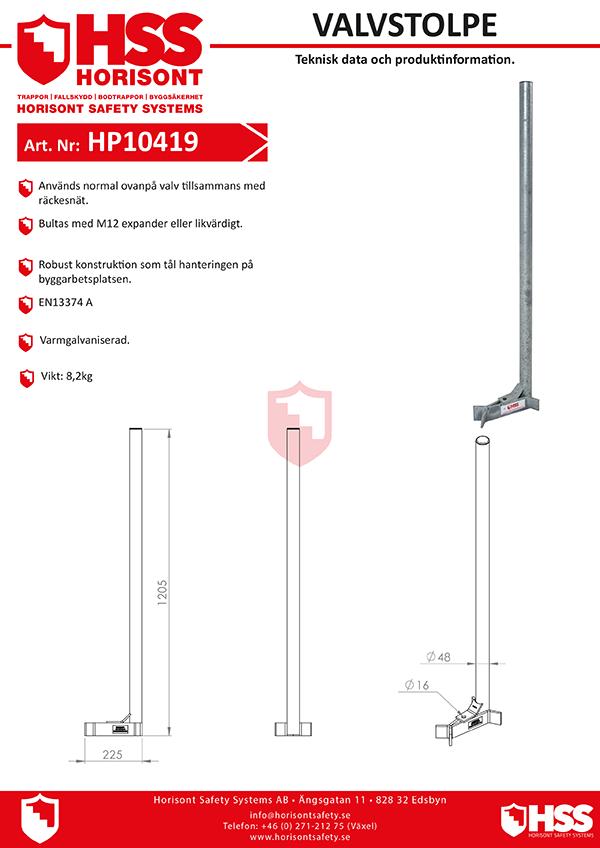 HP10419 - Svenska