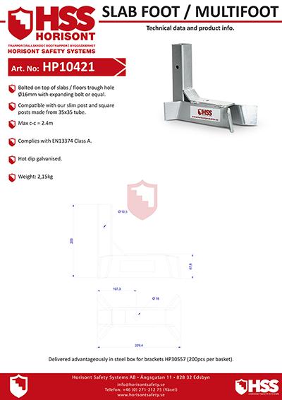 HP10421 - English