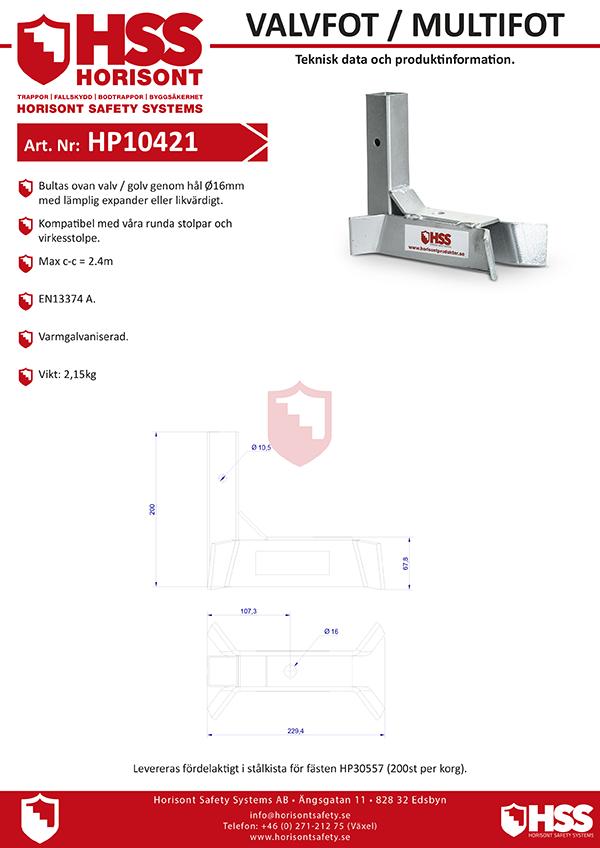 HP10421 - Svenska