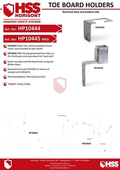 HP10444 HP10445 - English