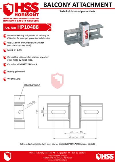 HP10488 - English