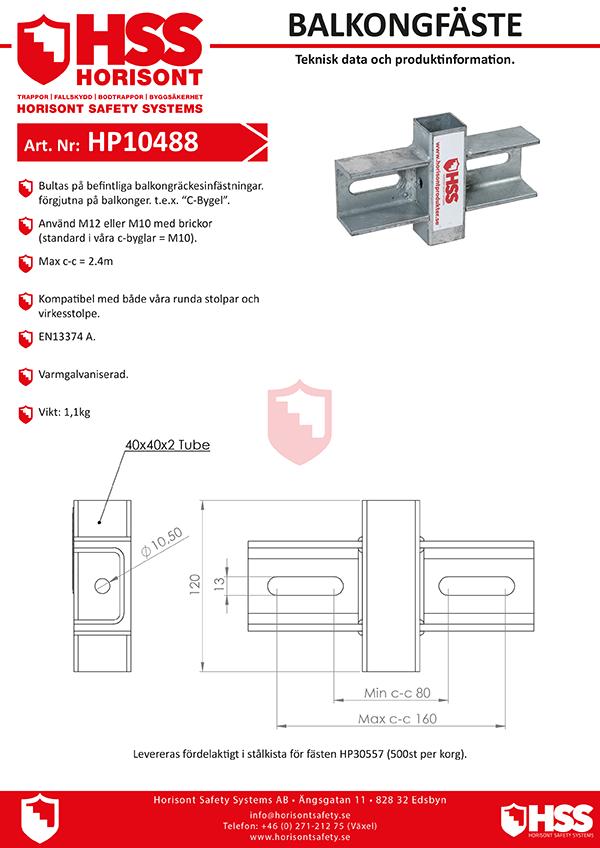 HP10488 - Svenska