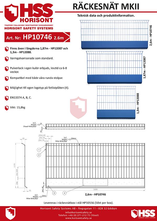 HP10746 HP12087 HP12088 - Svenska
