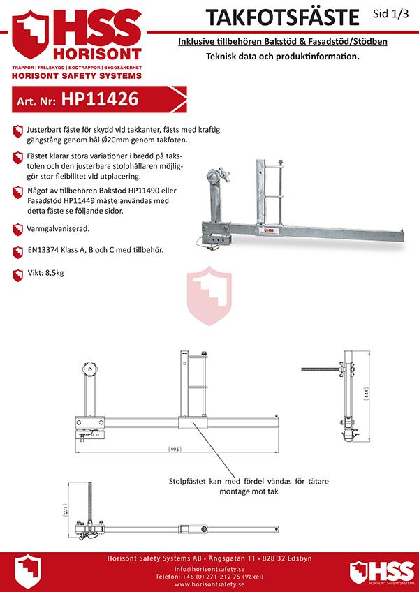 HP11426 HP11490 HP11449 - Svenska