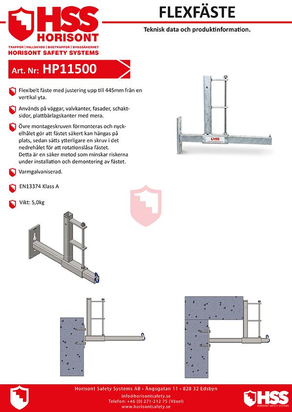 HP11500 - Svenska