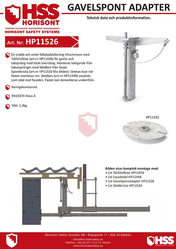 HP11526 HP11533 - Svenska