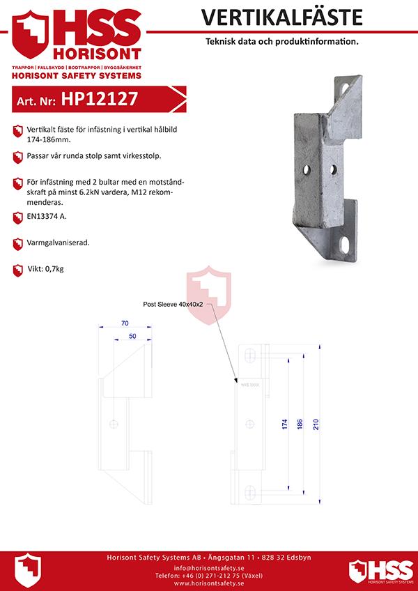 HP12127 - Svenska