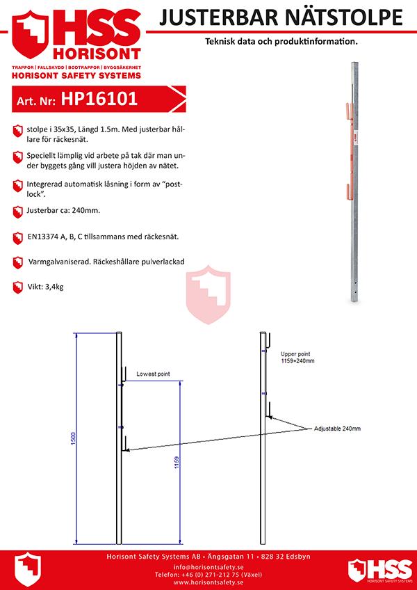 HP16101 - Svenska
