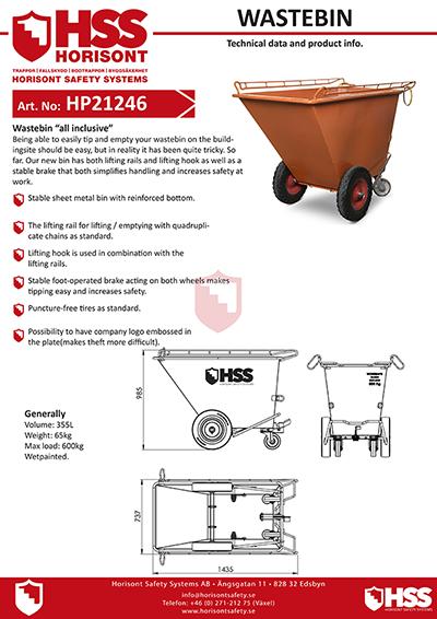 HP21246 - English