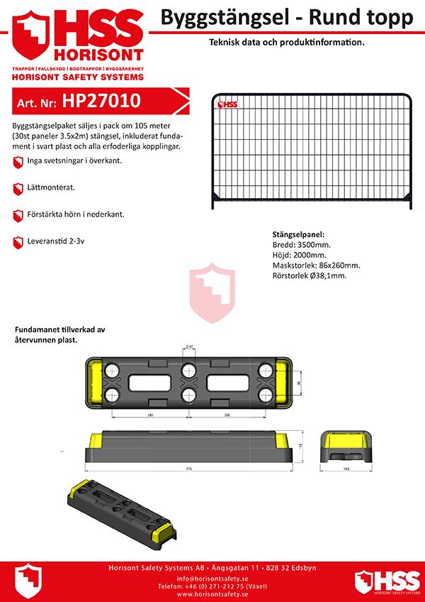HP27010 - Svenska