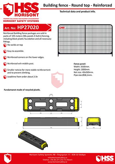 HP27020 - English