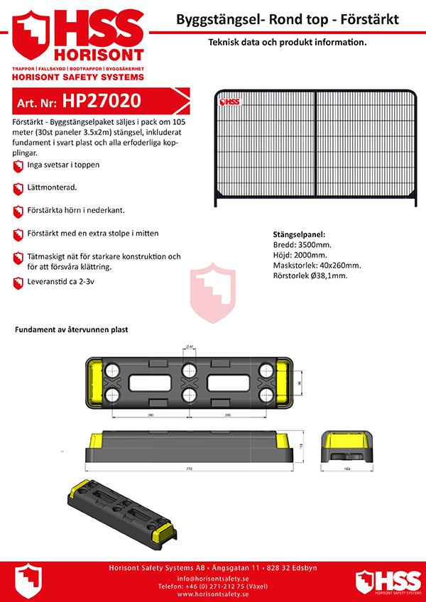 HP27020 - Svenska