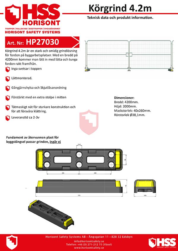 HP27030 - Svenska
