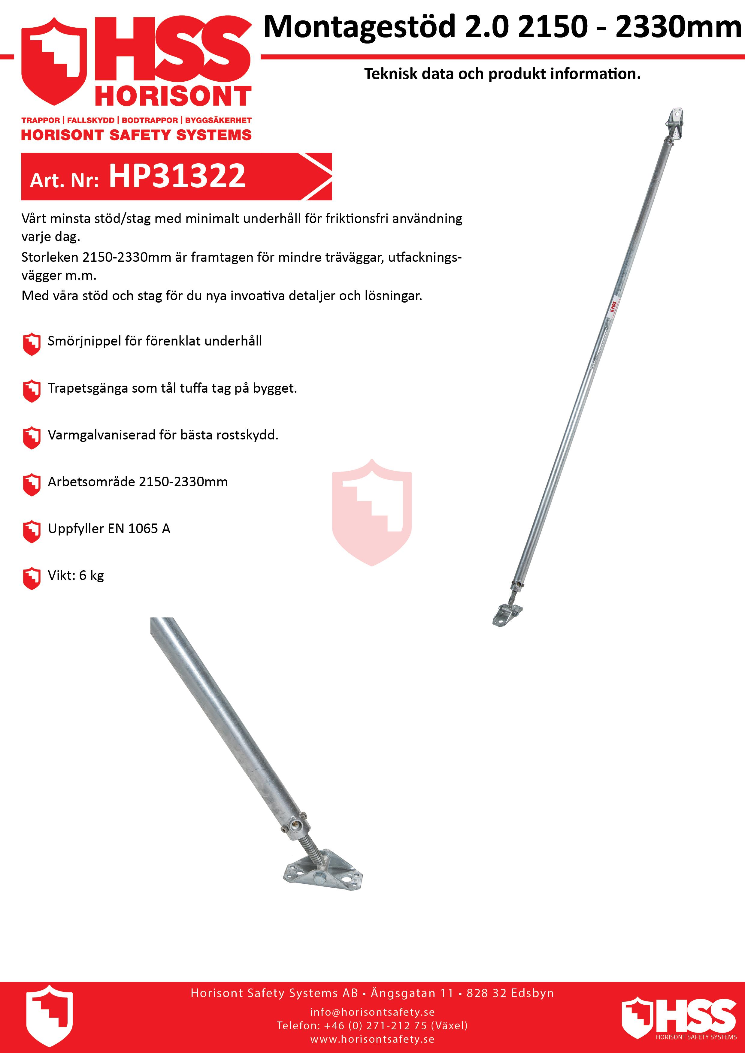 HP31322 - Svenska