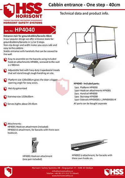 HP4040 - English