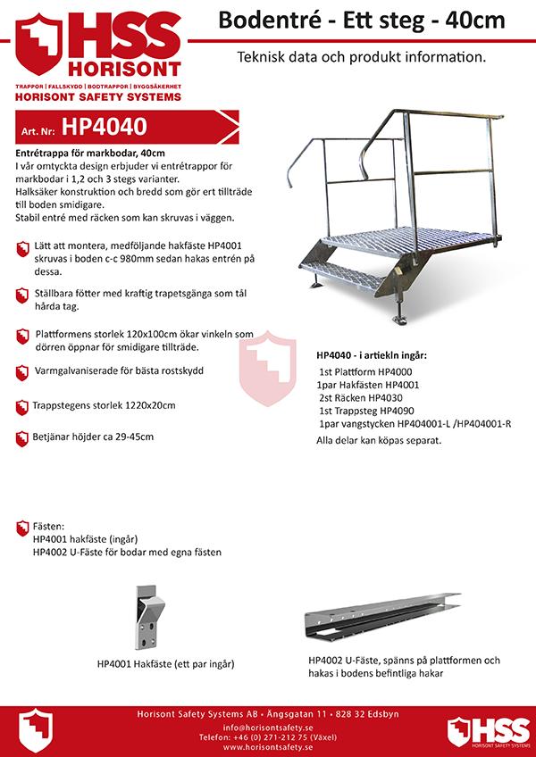HP4040 - Svenska