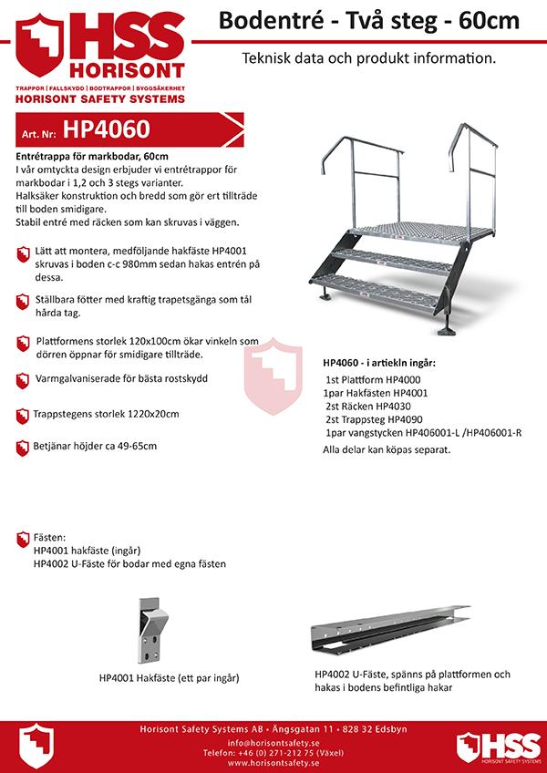 HP4060 - Svenska