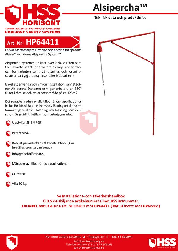 HSS Alsipercha - Svenska