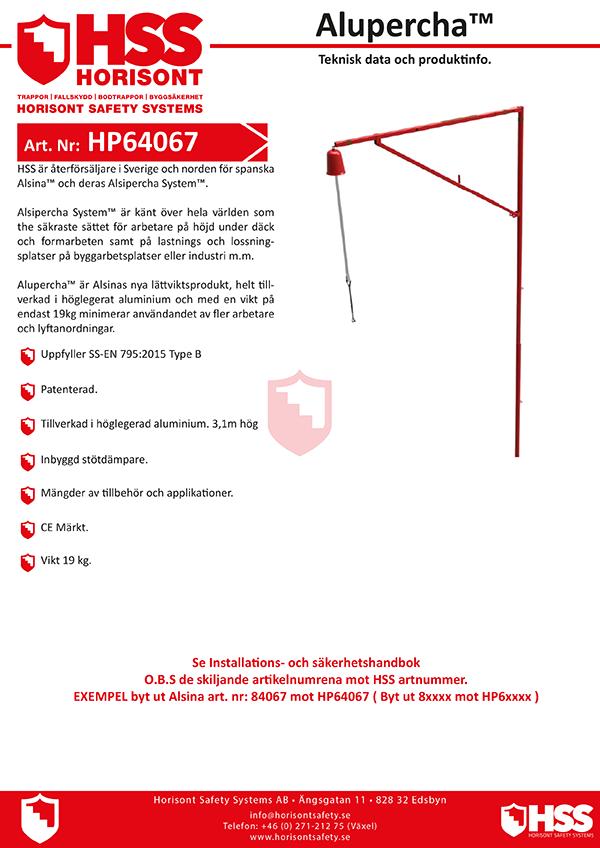 HSS Alupercha - Svenska